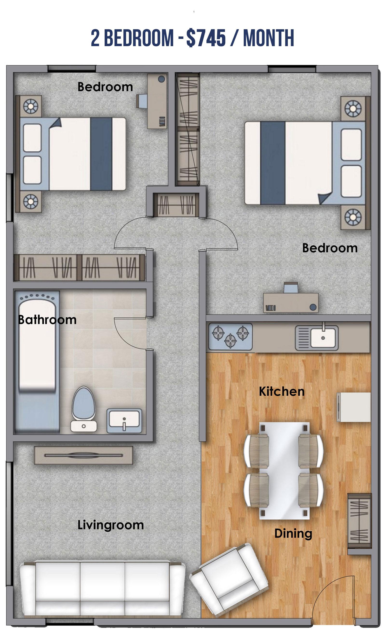 2-Bedroom-745